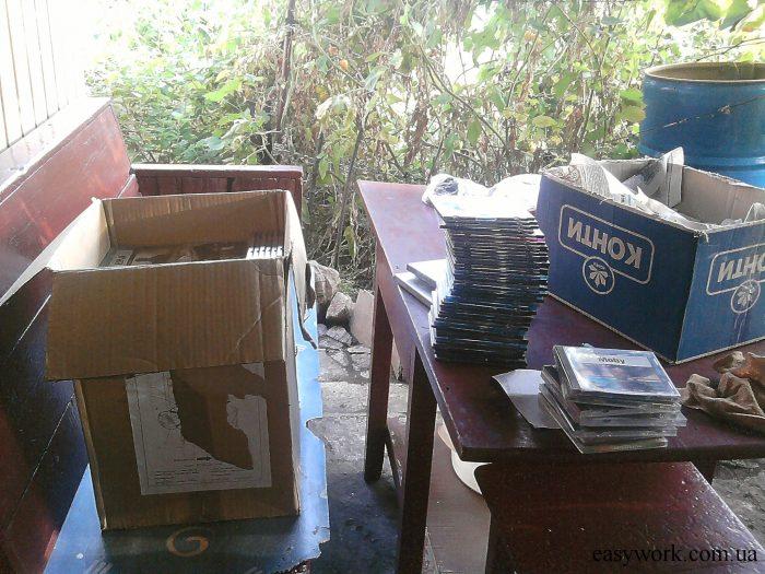 Избавление от ненужных вещей в виде компьютерных дисков (фото 1)