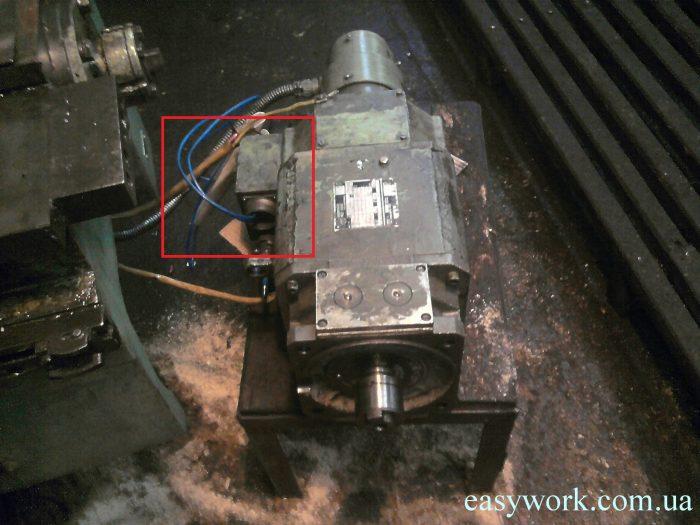 Двигатель ГФ2171 без разъема с напрямую заведенными проводами