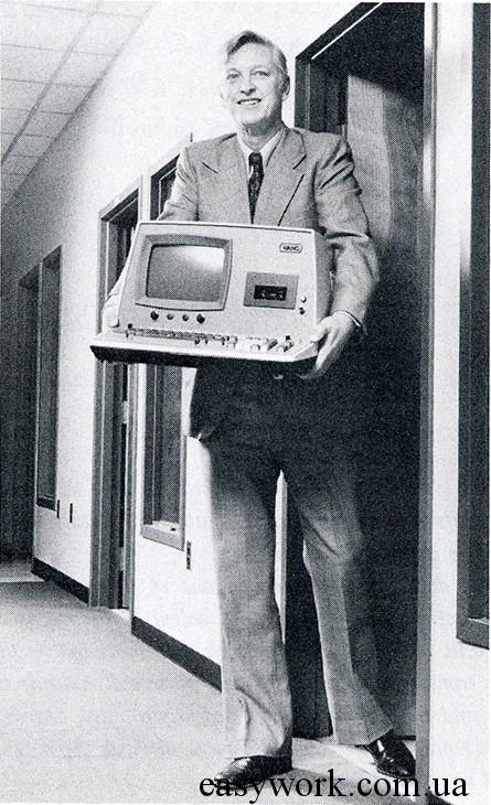 Портативный компьютер Wang Laboratories 2200 за 6000$