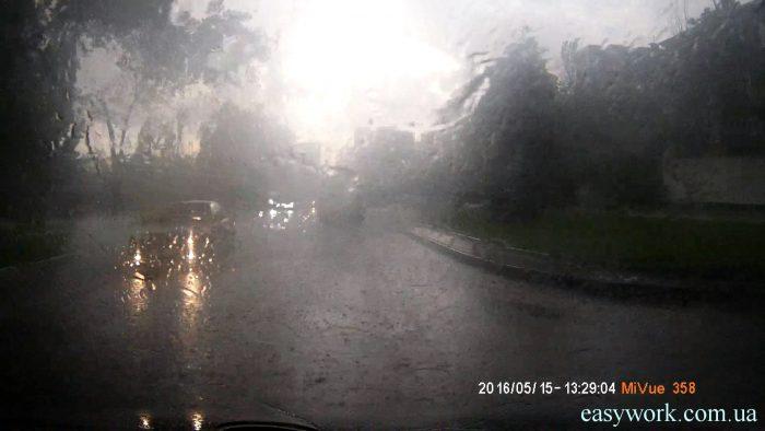 Не годится для продажи 1 - видео снятое в дождь