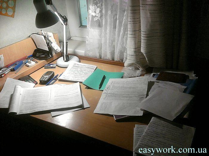 Чтобы повысить эффективность работы, рабочий стол должен быть в порядке