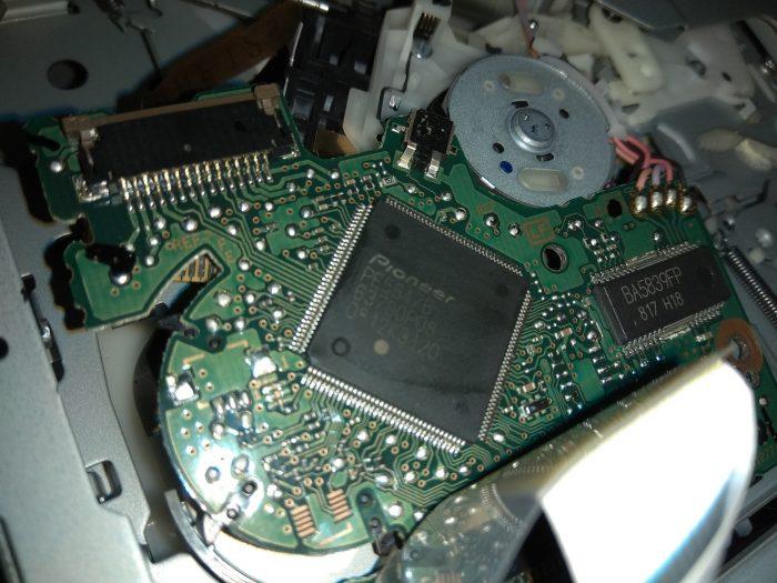 Вышедший из строя процессор магнитолы Pioneer DEH-P7000UB