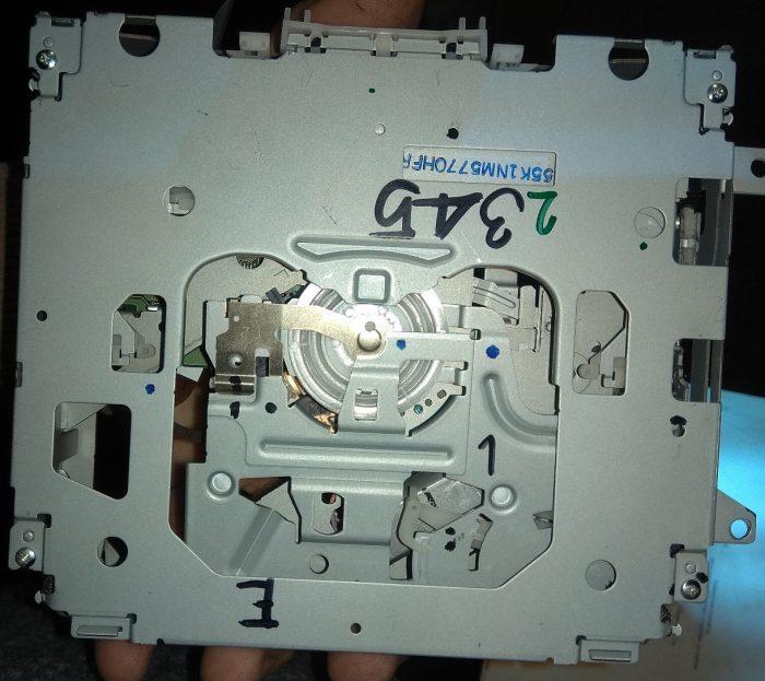 Родной привод магнитолы Pioneer DEH-P7000UB (фото 2)
