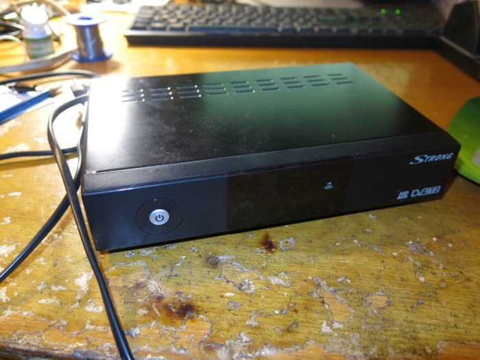 Цифровой эфирный DVB-T2 ресивер Strong SRT 8500