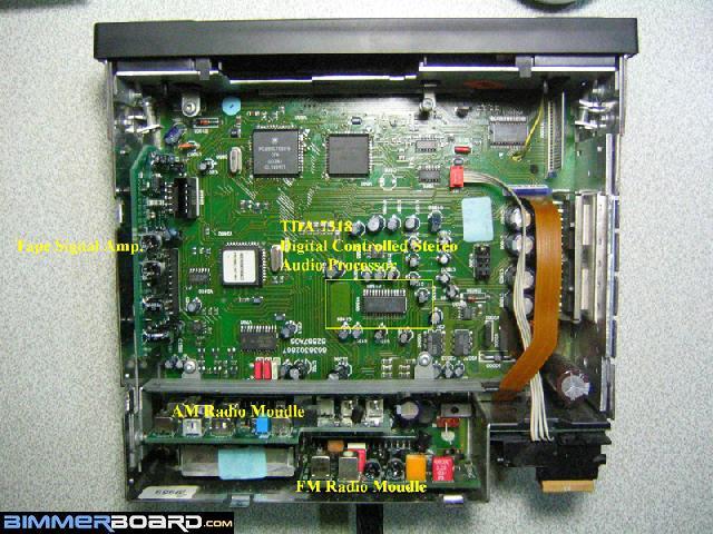 Реализация AUX с предусилителем TDA7318
