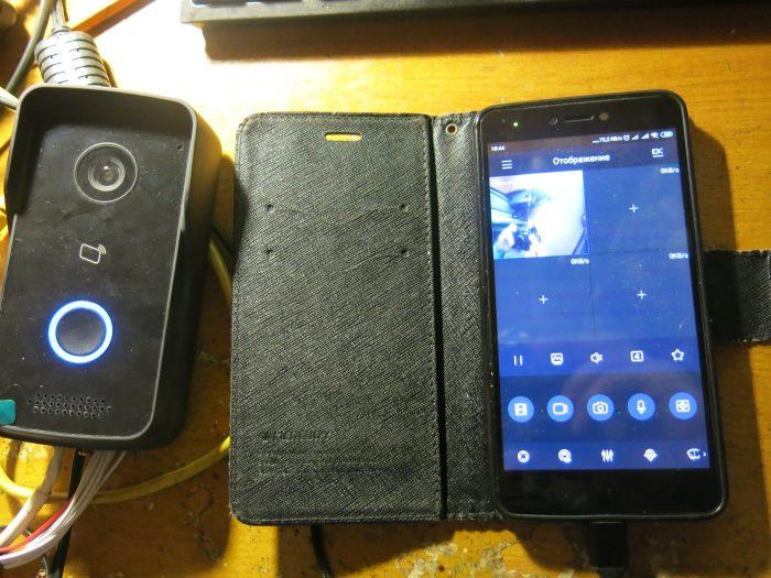 Связь вызывной панели Dahua VTO2111D-WP с телефоном