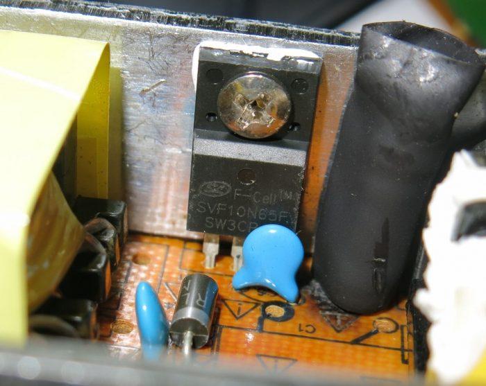 Полевой транзистор SVF10N65F
