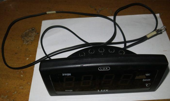 Внешний вид часов LUX CX-818