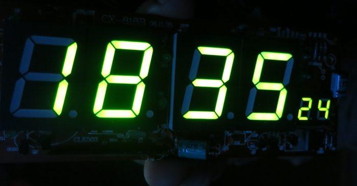 Сегменты часов LUX CX-818