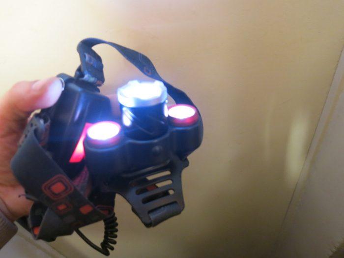 Отремонтированный фонарь Boruit RJ 3000