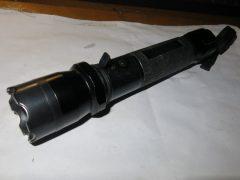 Ремонт фонарика с шокером (замена светодиода)