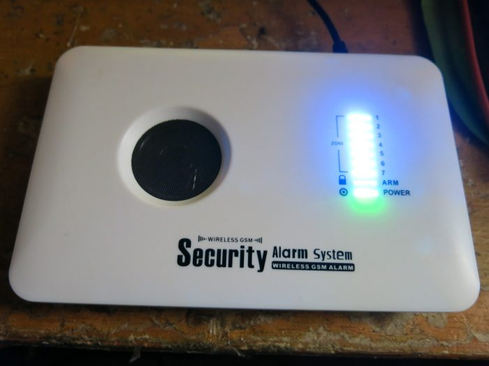 Отремонтированная GSM сигнализация PoliceCam GSM 10C Base