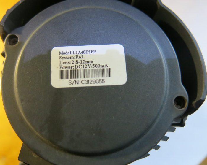 Маркировка видеокамеры LIA40ESFP