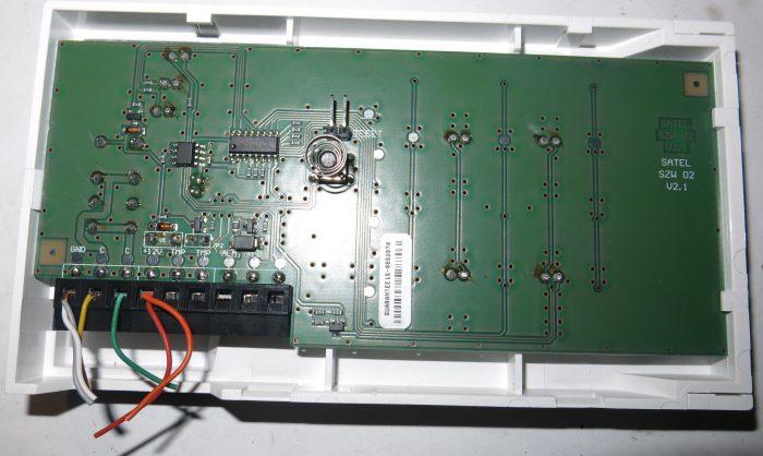 Плата кодонаборной клавиатуры Satel SZW-02