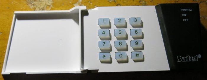 Кодонаборная клавиатура Satel SZW-02