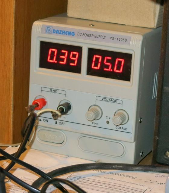 Потребление тока приставкой SELENGA T42D