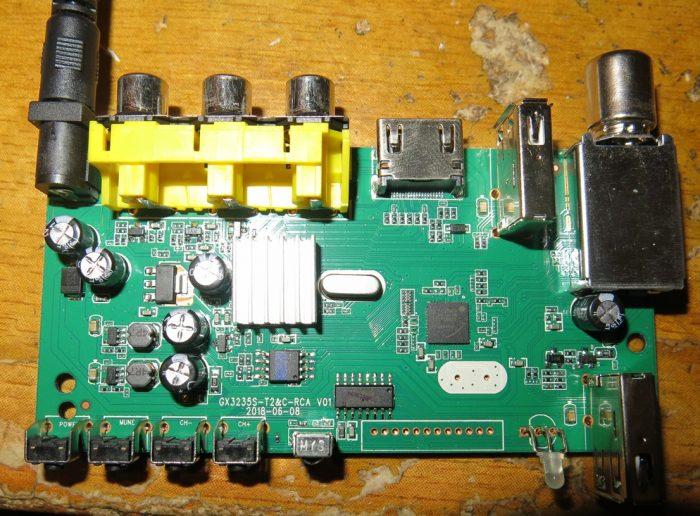 Расположение элементов на одной стороне платы SELENGA T42D (фото 1)