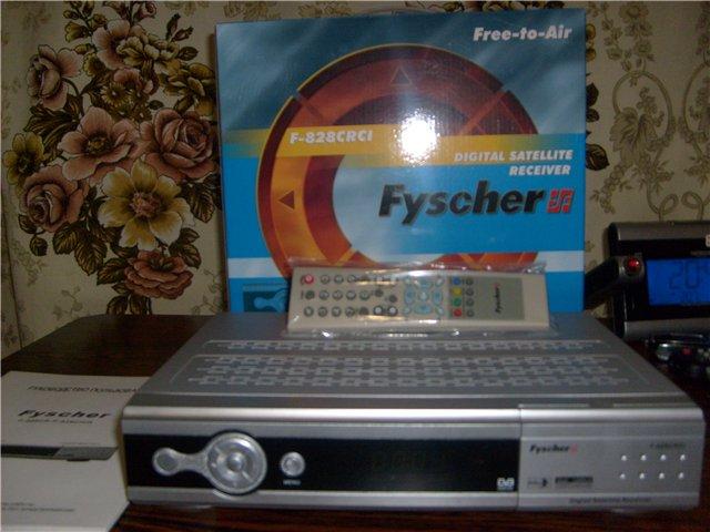 Дизайн  тюнера Fyscher F-808CR DVB