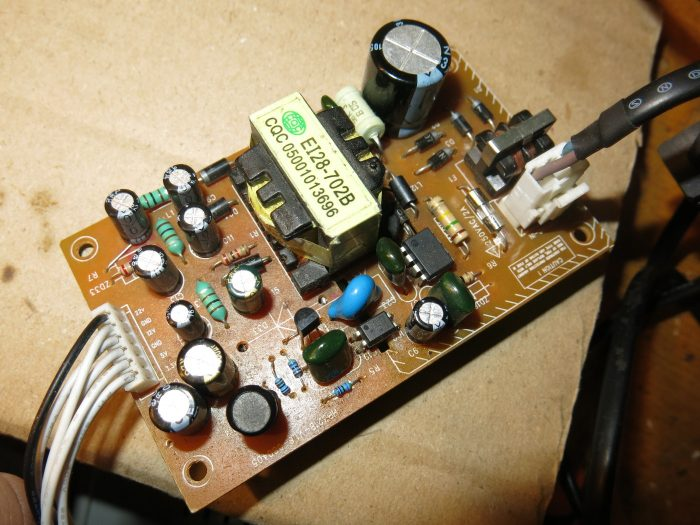 Блок питания тюнера COSMOSAT 7100C