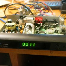 Ремонт тюнера COSMOSAT 7100C (не включается)