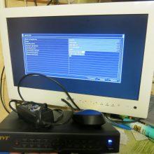 Ремонт видеорегисторатора TVT TD-2304SS-C (пищит, не запускается)