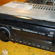 Ремонт магнитолы Pioneer 8506D (отходит разъем)