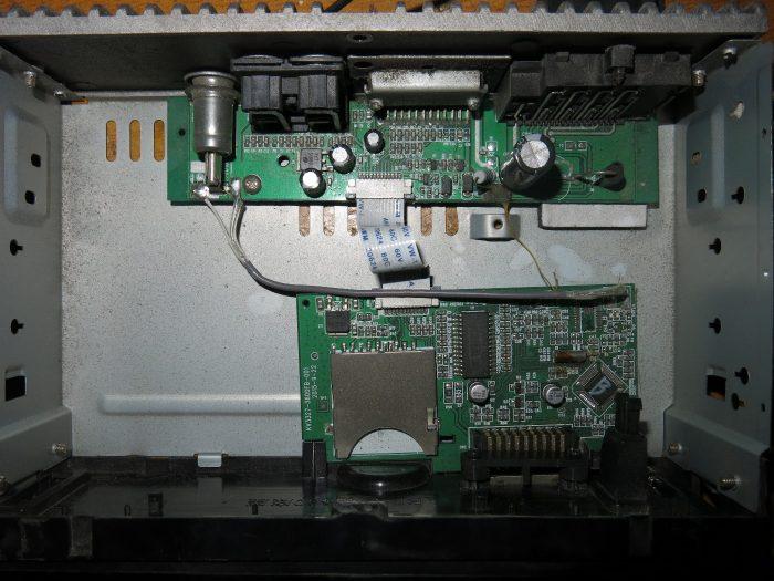 Магнитола Pioneer 8506D внутри