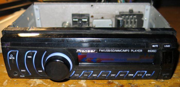 Панель магнитолы Pioneer 8506D