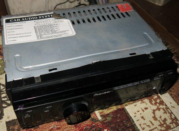Отремонтированная магнитола Pioneer 8506D