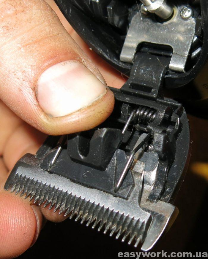 Верхний нож должен быть установлен вот так (фото 1)