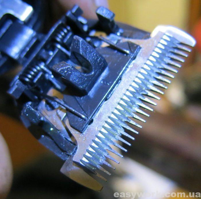 Сборка машинки для стрижки