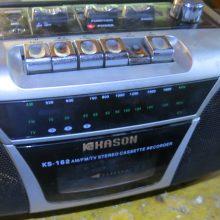 Ремонт магнитофона KASON KS-162 (не включается кассета)