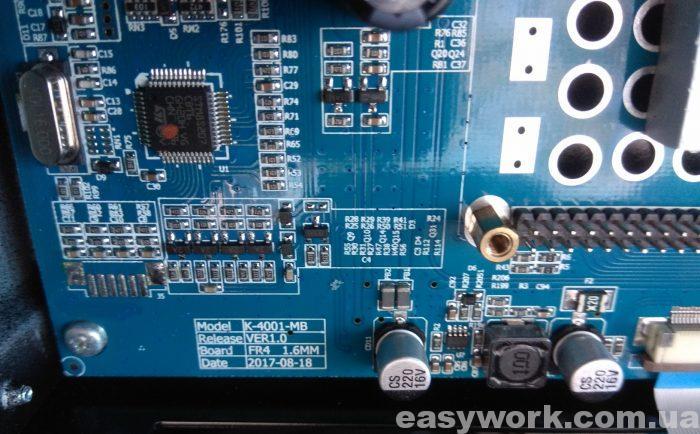 Маркировка платы K-4001-MB