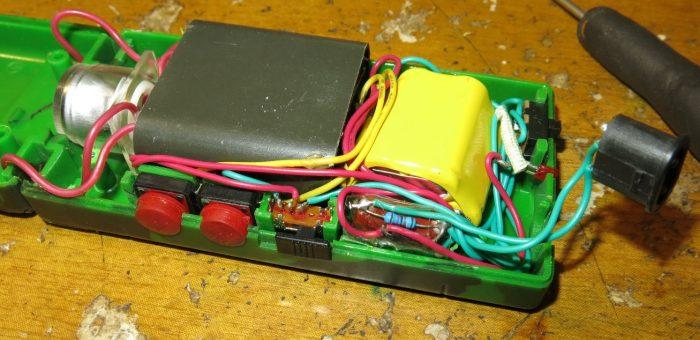 Внутреннее устройство электрошокера Оса 1128-3 (фото 1)