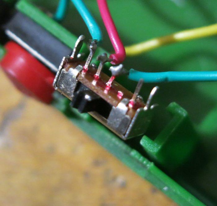 Переключатель режимов электрошокера