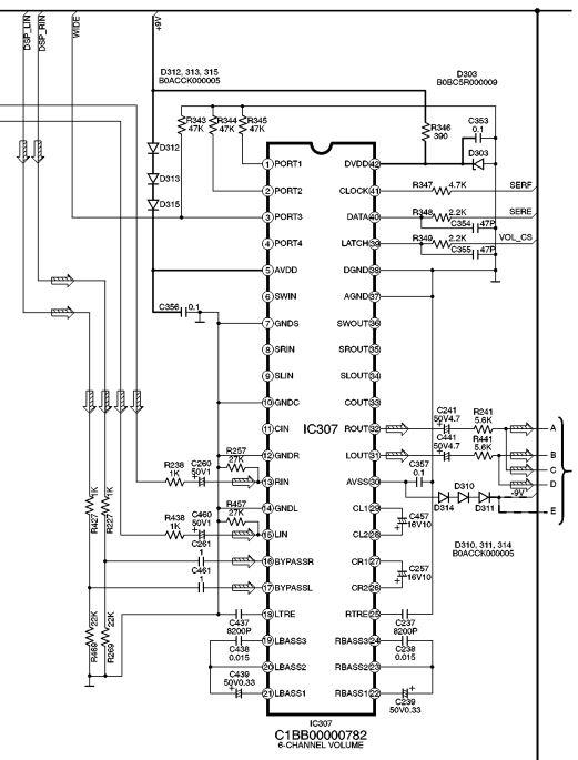 Микросхема предусилителя IC307 C1BB00000782