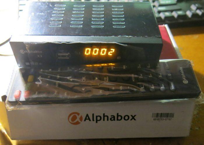 Спутниковый тюнер ALPHABOX X3