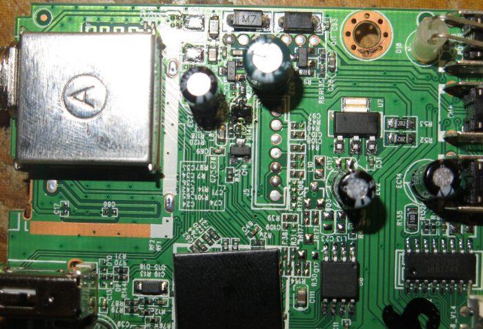 После замены транзистора
