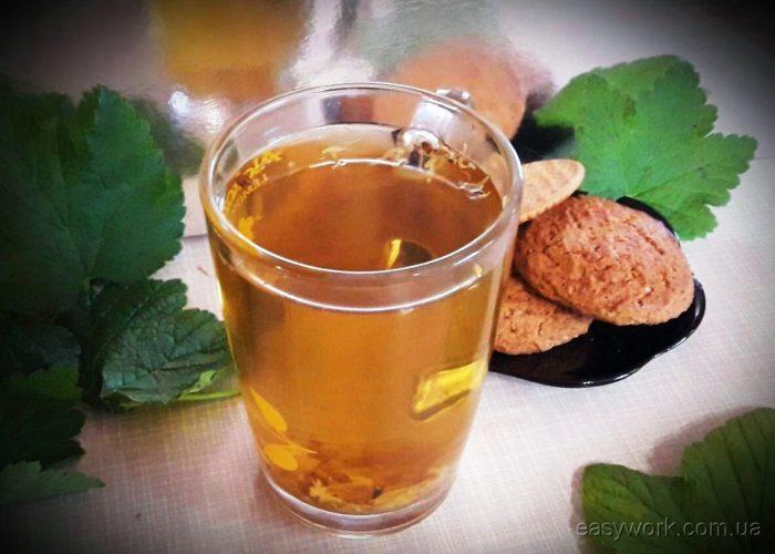 Домашний травяной чай