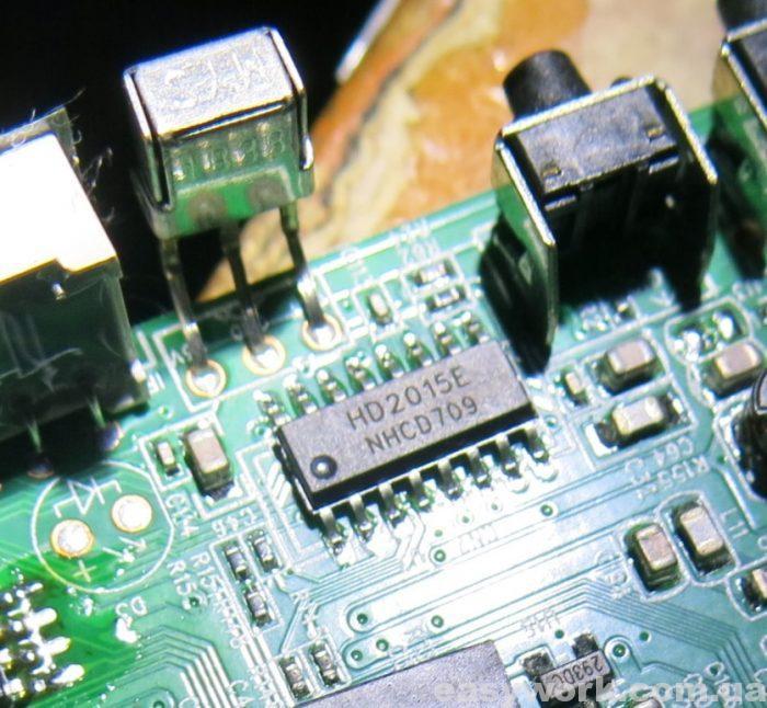 Микросхема HD2015E