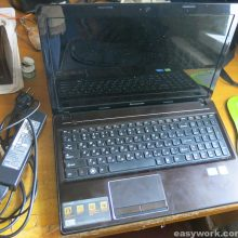 Не включается ноутбук Lenovo G580 20150