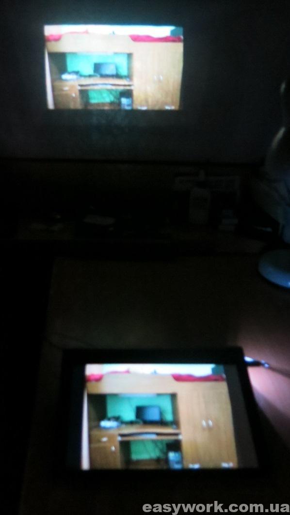 Проектор в планшете Lenovo YT3-X90L