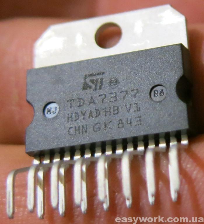 Усилитель TDA7377