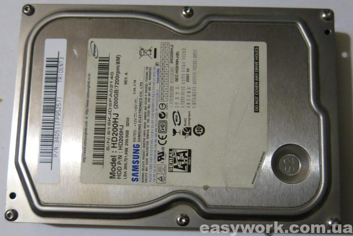 Жесткий диск HD200HJ