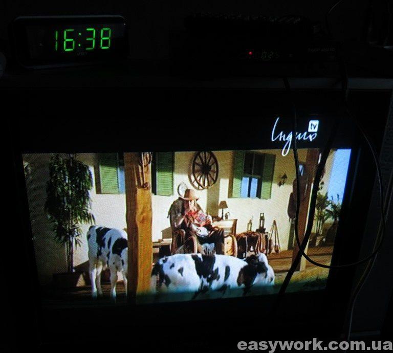 Отремонтированный тюнер TIGER* 4050 HD