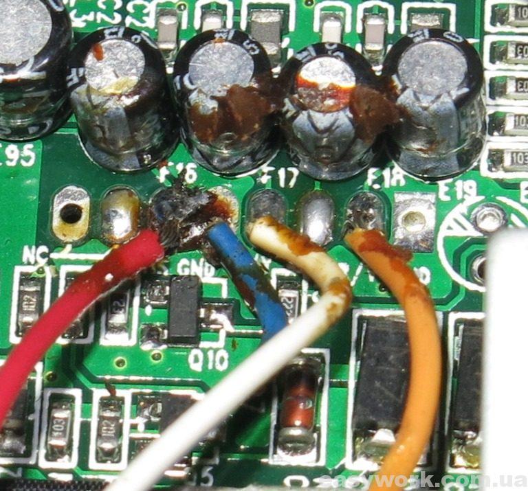 Провода видеокоммутатора