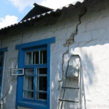 Анализ образования трещин в стенах дома  (часть 1)