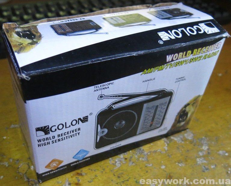 Радиоприёмник Golon RX-606AC (фото 1)
