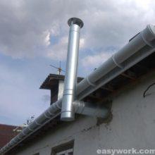 Монтаж (установка) вентиляционного канала/ вентканала