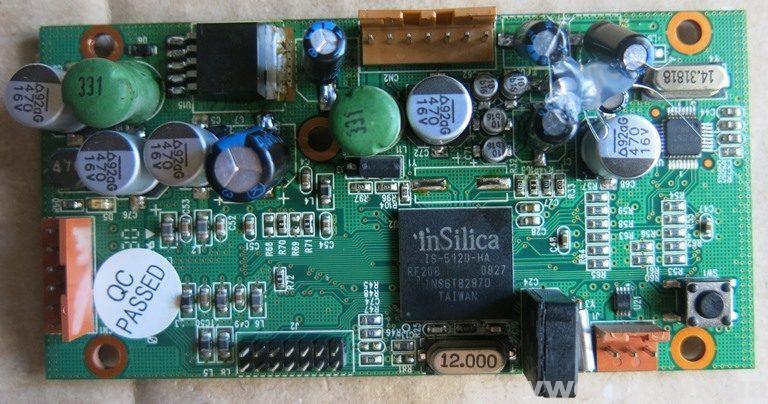 Замененные конденсаторы по факту